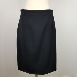 Ralph Lauren Purple Label Black Pencil Skirt 6